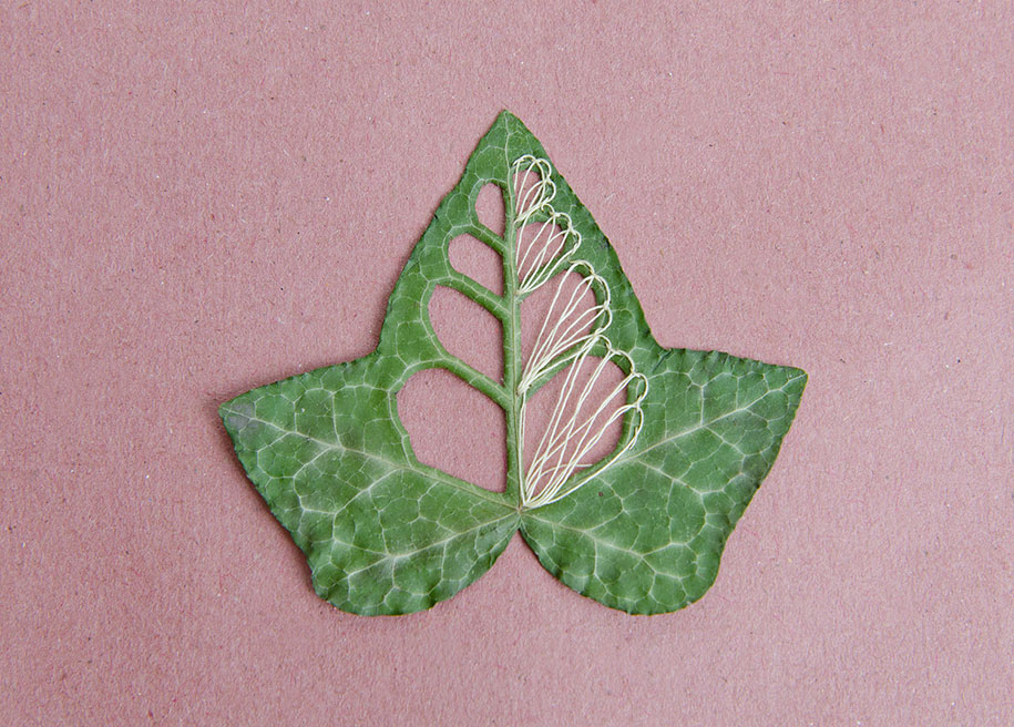 embroidery-art-stitched-leaves-hillary-fayle-6