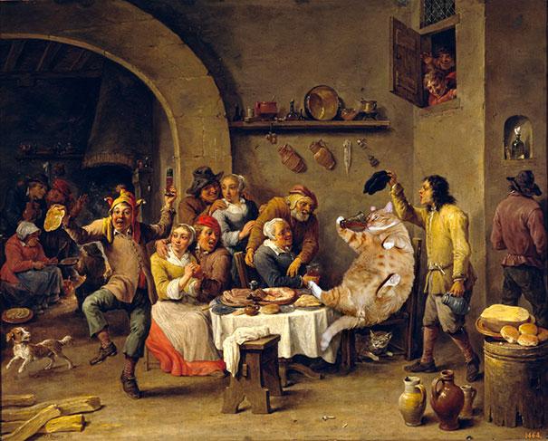 fat-cat-zarathustra-classical-paintings-svetlana-petrova-11
