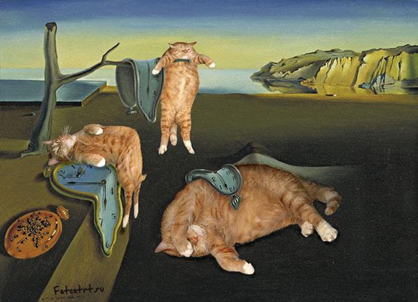 fat-cat-zarathustra-classical-paintings-svetlana-petrova-12