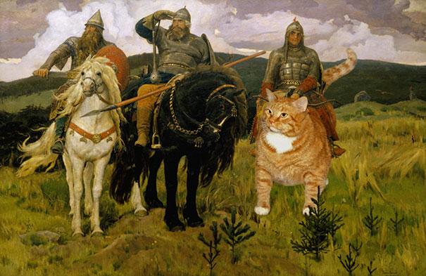 fat-cat-zarathustra-classical-paintings-svetlana-petrova-4
