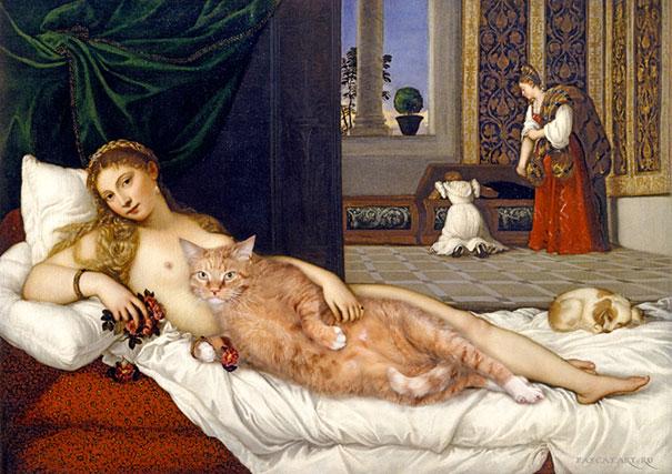 fat-cat-zarathustra-classical-paintings-svetlana-petrova-5