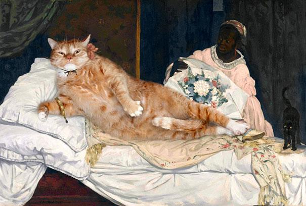 fat-cat-zarathustra-classical-paintings-svetlana-petrova-7