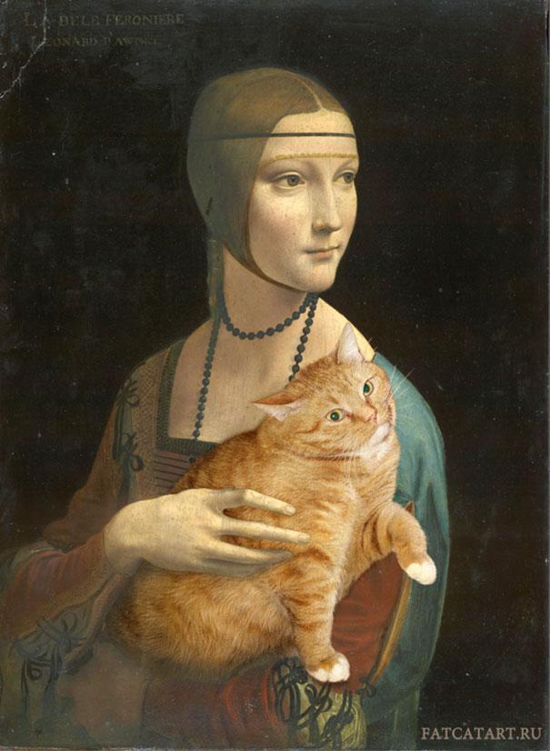 fat-cat-zarathustra-classical-paintings-svetlana-petrova-8