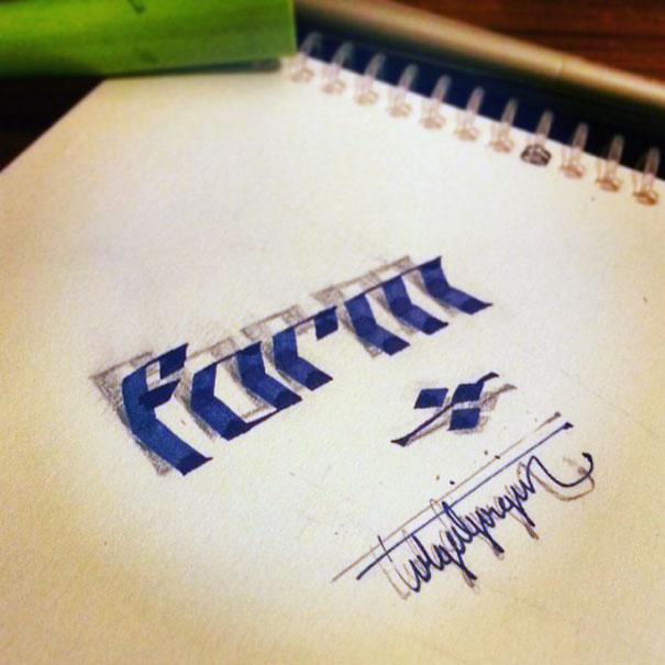 beautiful-3d-calligraphy-tolga-girgin-3