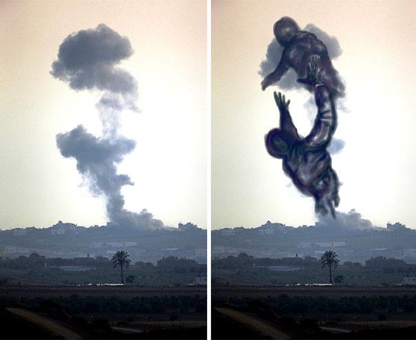 palestine-israel-rocket-strike-smoke-pareidolia-art-4