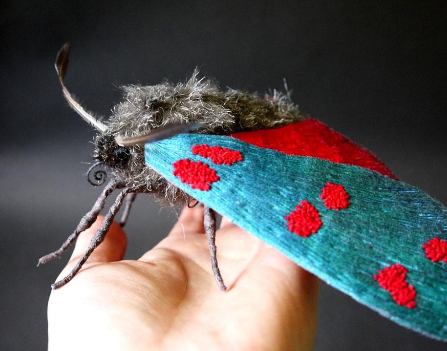 textile-art-fabric-sculptures-insects-moths-butterflies-yumi-okita-6