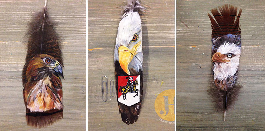 animal-bird-painting-feathers-oil-acrylic-paint-jamie-homeister-17