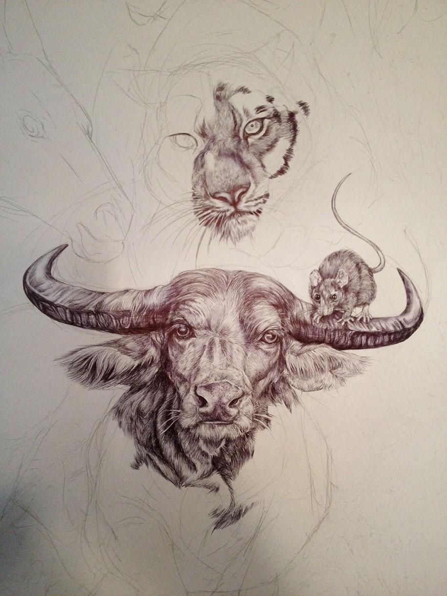 chinese-zodiac-animals-giant-drawing-casterlyrock-savannah-burgess-4