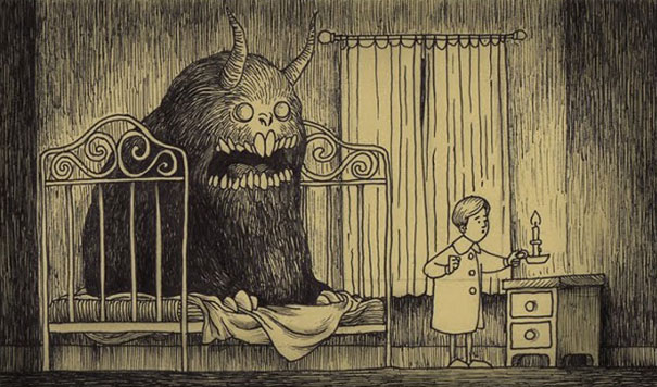 creepy-childhood-monsters-sticky-notes-don-kenn-13
