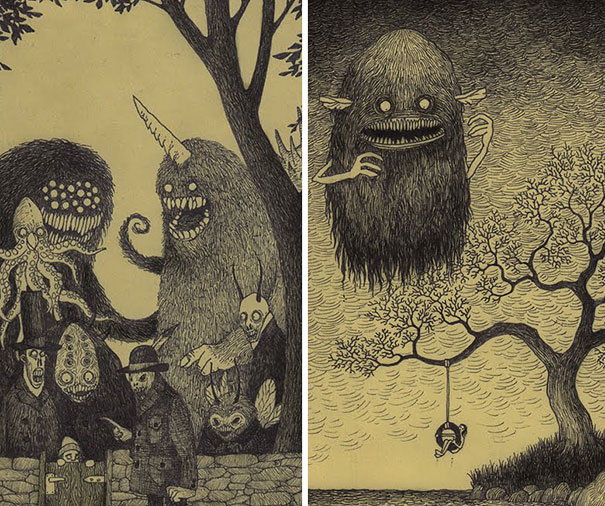 creepy-childhood-monsters-sticky-notes-don-kenn-24