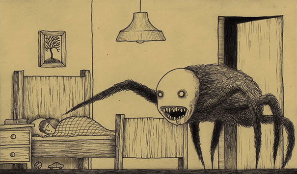creepy-childhood-monsters-sticky-notes-don-kenn-5