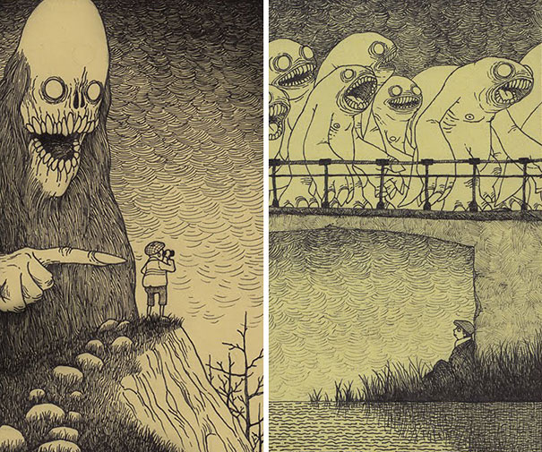 creepy-childhood-monsters-sticky-notes-don-kenn-8