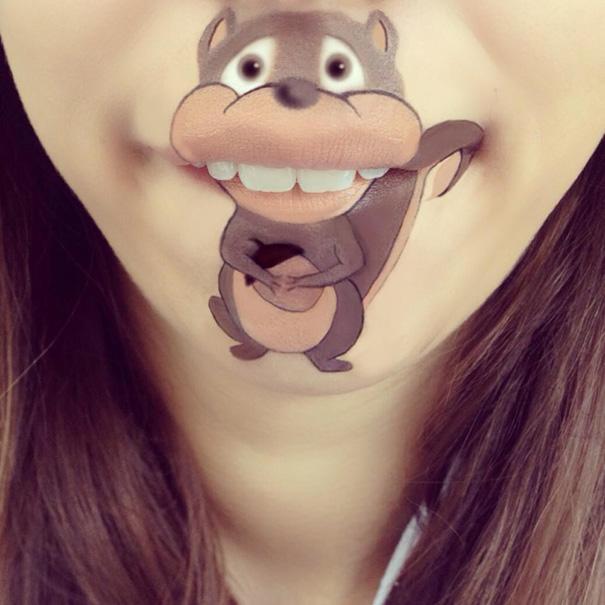 makeup-art-lips-cartoon-character-illustrations-laura-jenkinson-18