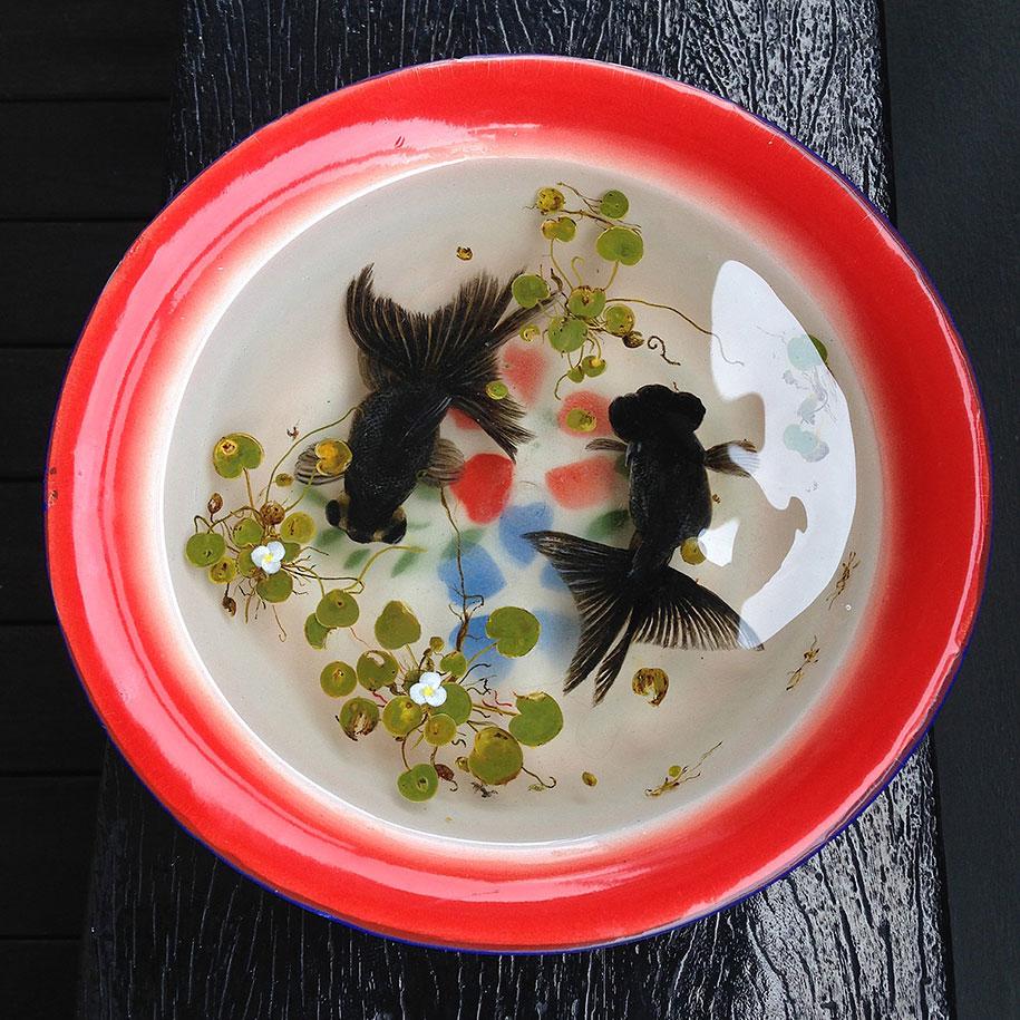 optical-illusion-3d-fish-resin-painting-keng-lye-5