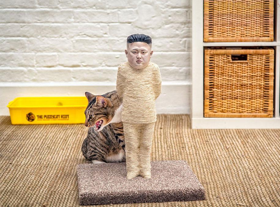 putin-kim-jong-un-cat-scratching-posts-protest-pussycat-riot-5