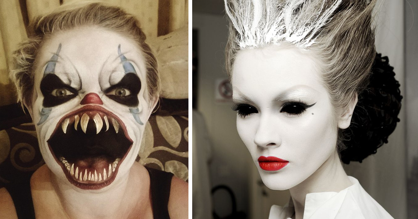 Halloween Makeup Creepy.25 Of The Scariest Makeup Ideas For Halloween Demilked