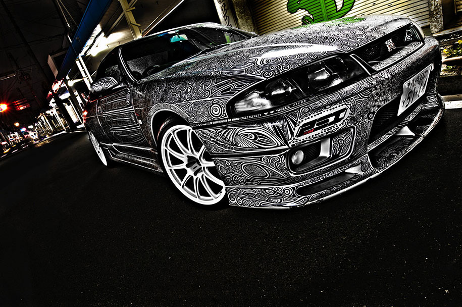 sharpie-pen-drawing-car-art-8