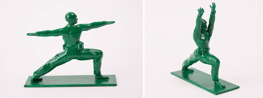 yoga-joes-green-army-figures-dan-abramson-6