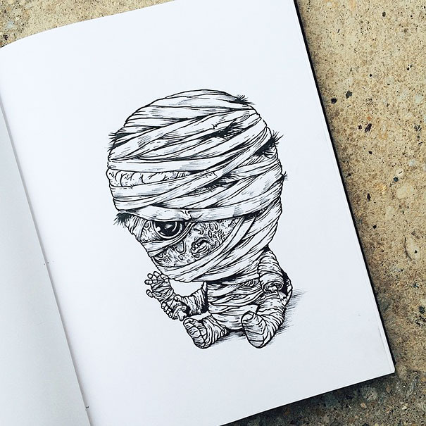baby-terrors-iconic-horror-characters-illustrations-alex-solis-1