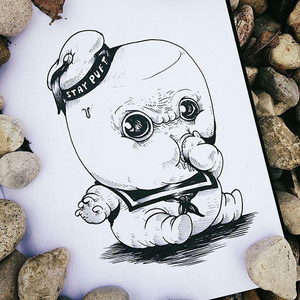 baby-terrors-iconic-horror-characters-illustrations-alex-solis-20