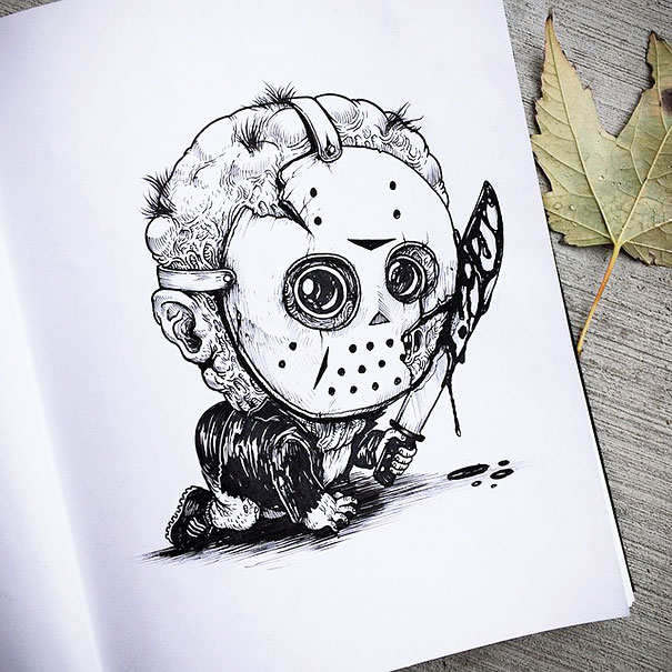 baby-terrors-iconic-horror-characters-illustrations-alex-solis-4
