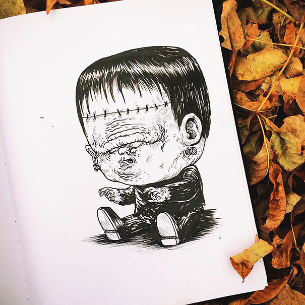 baby-terrors-iconic-horror-characters-illustrations-alex-solis-9