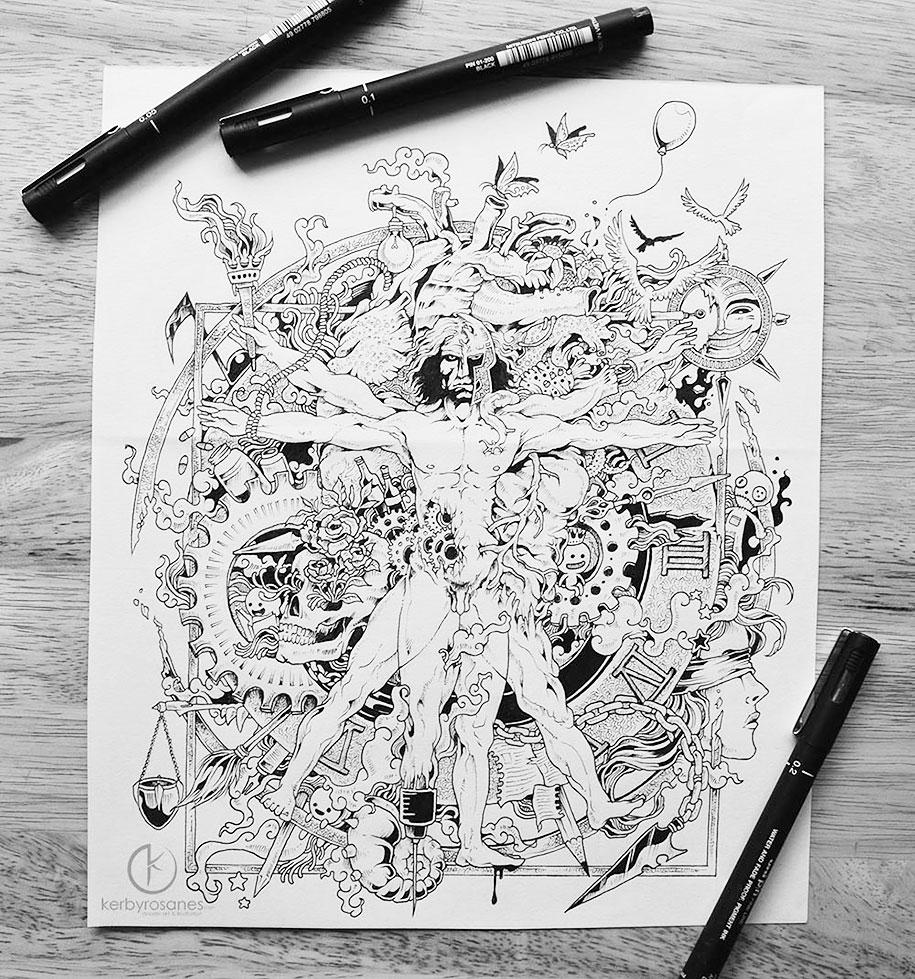 detailed-pen-drawings-kerby-rosanes-11