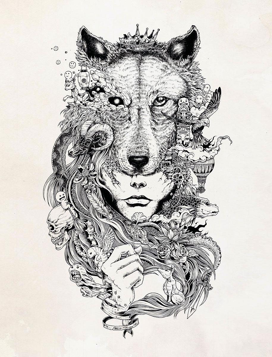 detailed-pen-drawings-kerby-rosanes-8