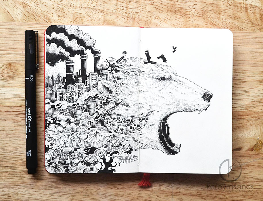 detailed-pen-drawings-kerby-rosanes-9