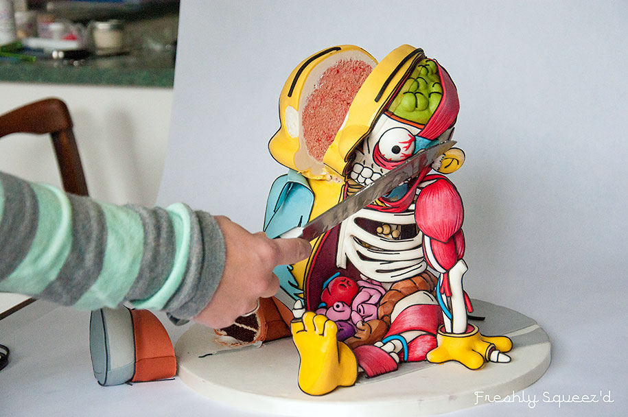 ralph-wiggum-the-simpsons-cutout-cake-kylie-mangles-freshly-squeezd-19