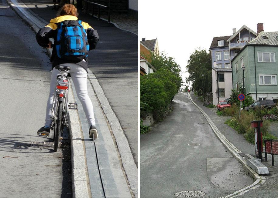 trampe-city-bike-escalator-cyclocable-trondheim-norway-1