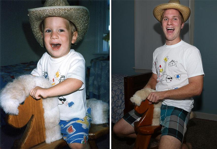 brothers-childhood-photo-recreation-christmas-calendar-gift-1