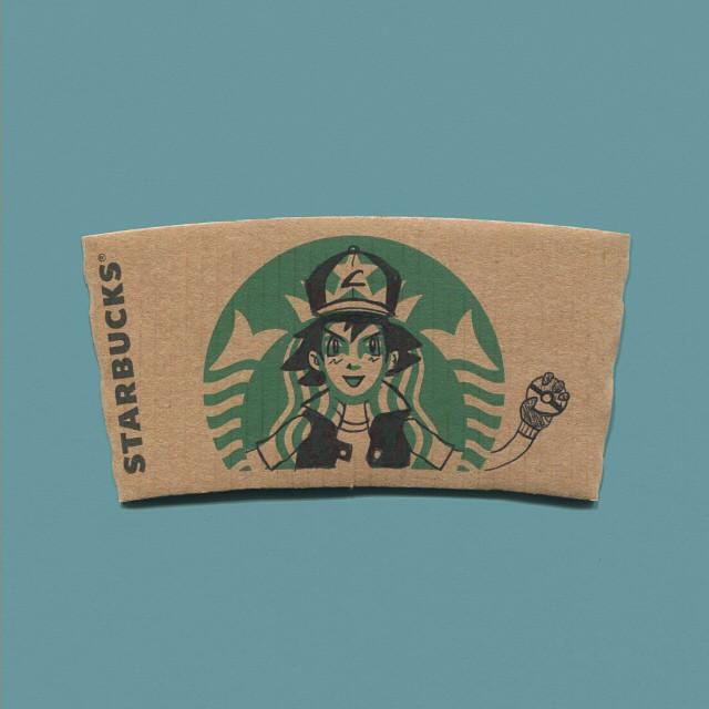 starbucks-cup-sleeve-art-pop-culture-characters-sleevebucks-16