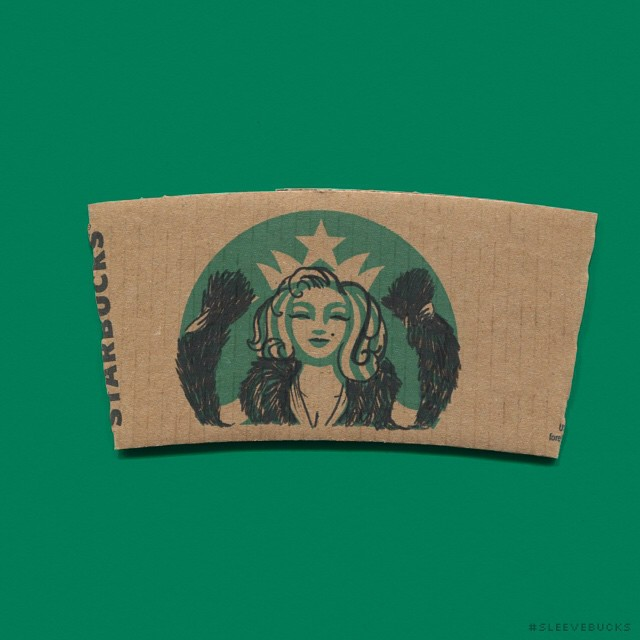 starbucks-cup-sleeve-art-pop-culture-characters-sleevebucks-4