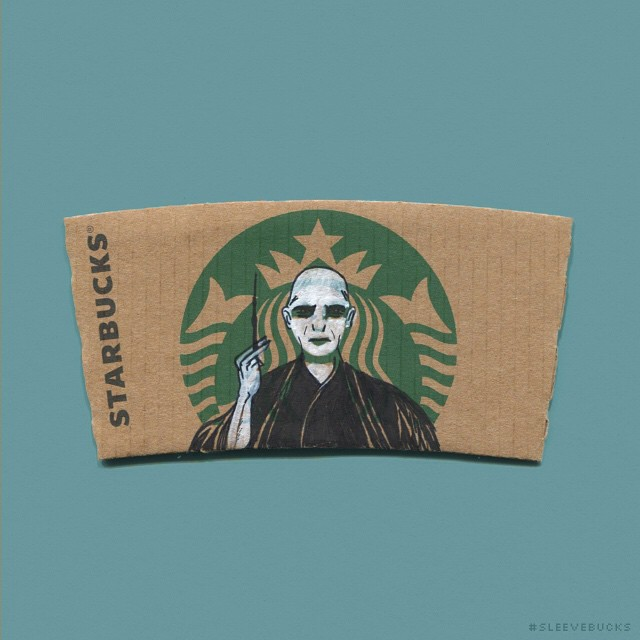 starbucks-cup-sleeve-art-pop-culture-characters-sleevebucks-5
