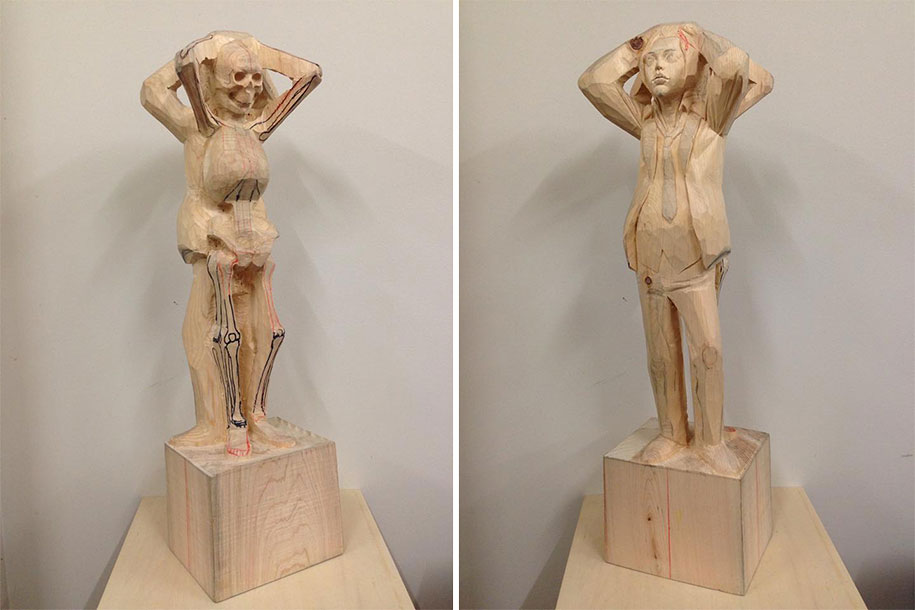 surreal-wooden-sculptures-yoshitoshi-kanemaki-36