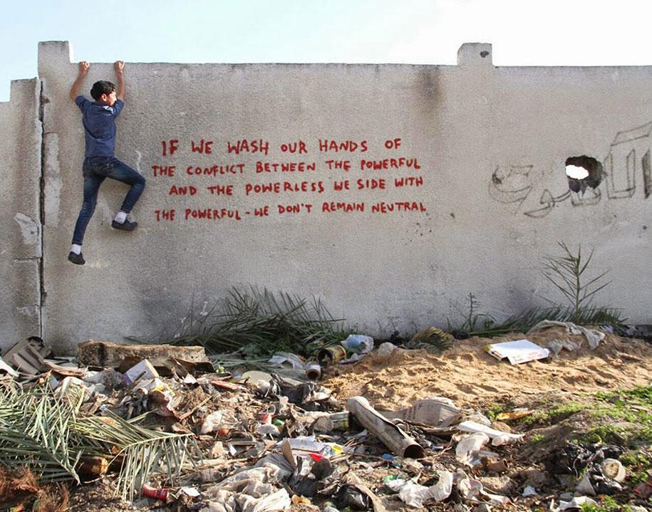 Israel-palestine-conflict-gaza-graffiti-banksy-7