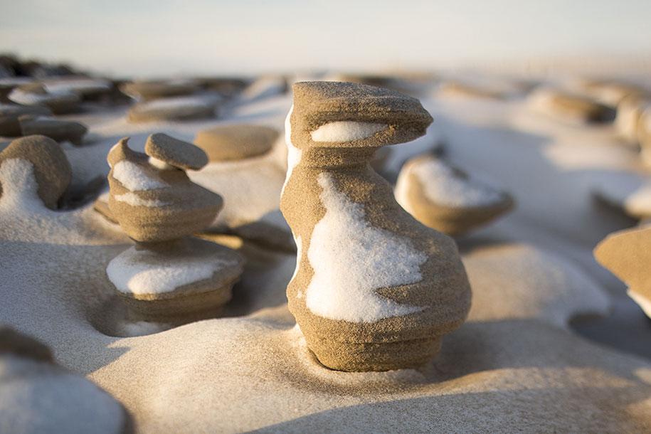 frozen-sand-towers-wind-lake-michigan-joshua-nowicki-5