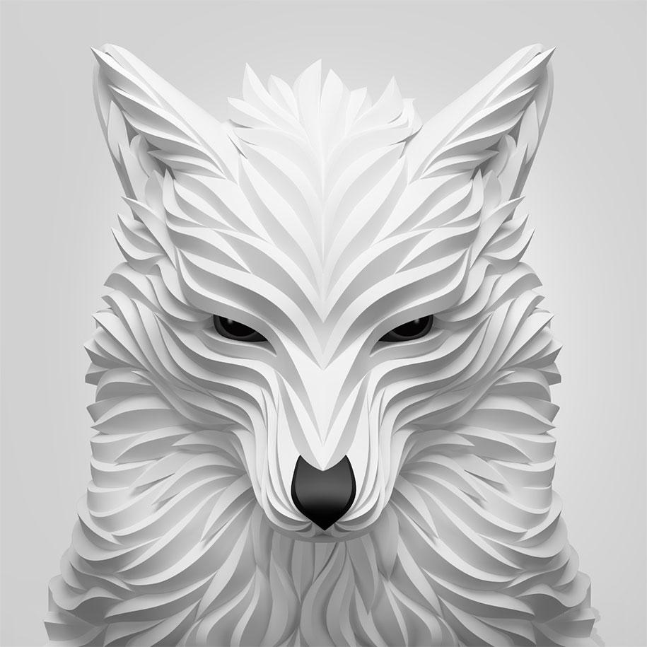 3d-geometry-animals-wolf-hoof-maxim-shkret-6