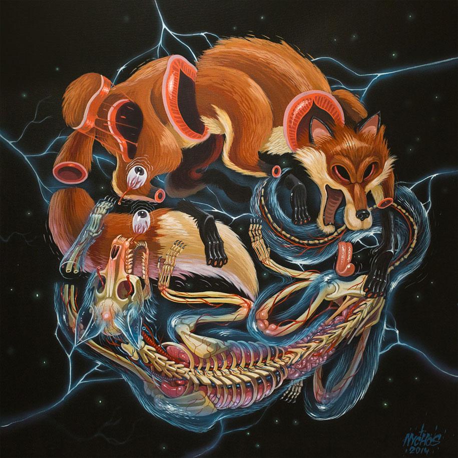 cartoon-character-animal-dissection-street-art-nychos-11