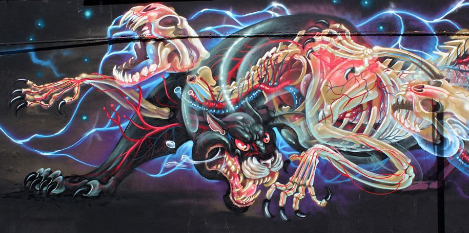 cartoon-character-animal-dissection-street-art-nychos-13