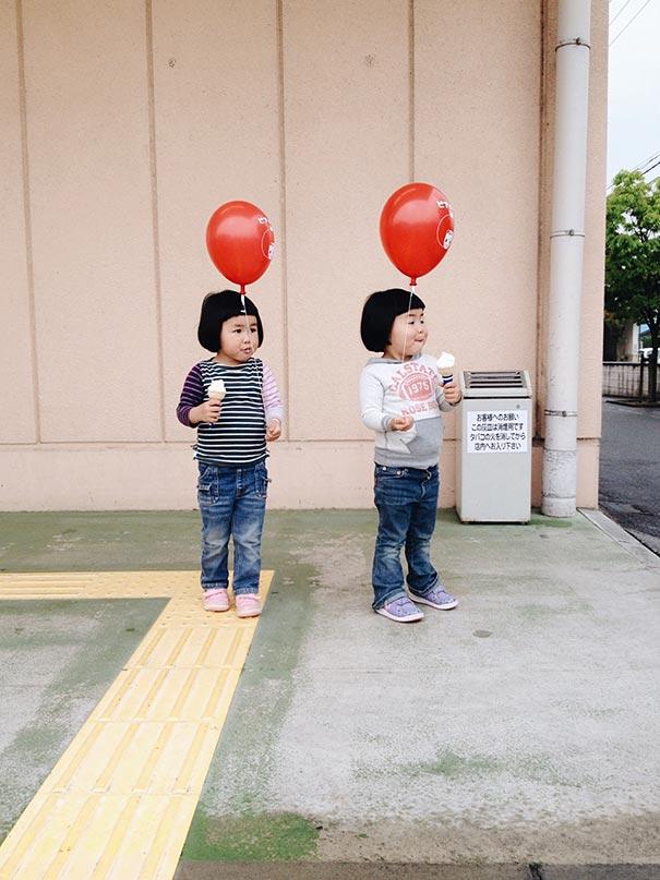 childhood-twin-sisters-family-pictures-sunmoooon-akira-oozawa-36