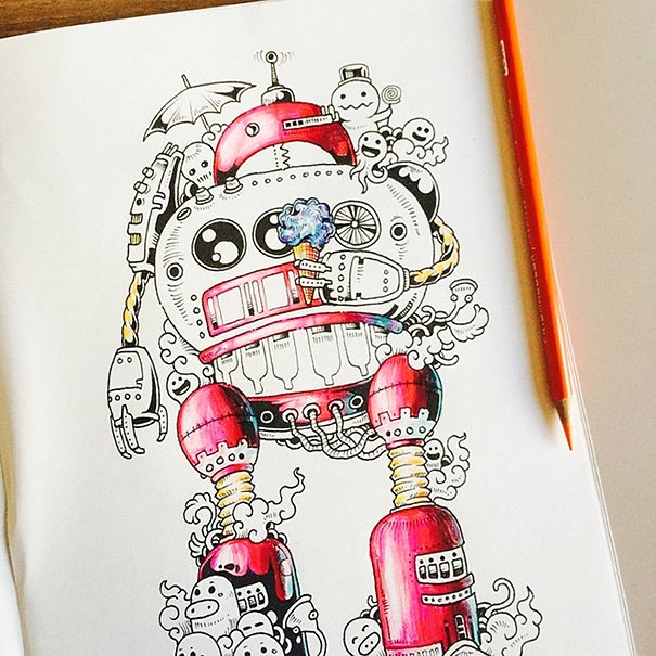 funny-adult-coloring-book-doodle-invasion-kerby-rosanes-07