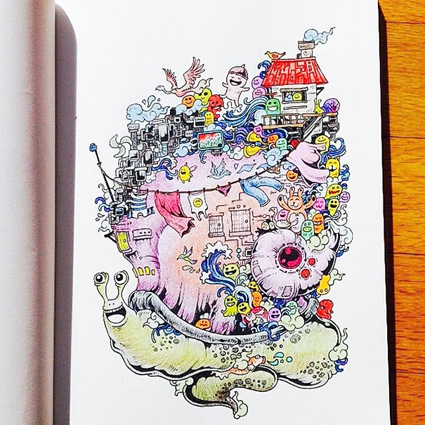 funny-adult-coloring-book-doodle-invasion-kerby-rosanes-08