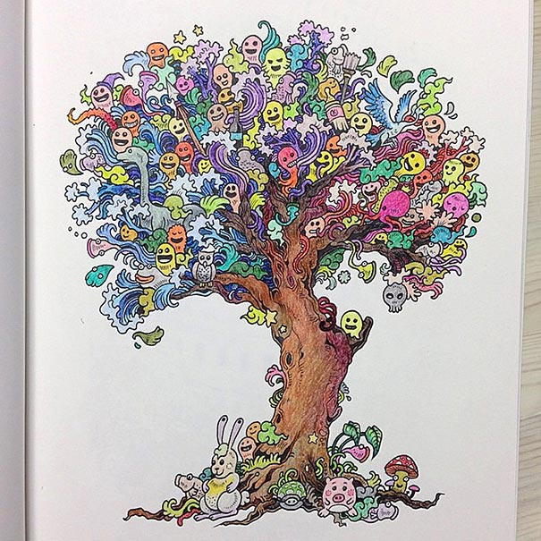 funny-adult-coloring-book-doodle-invasion-kerby-rosanes-10