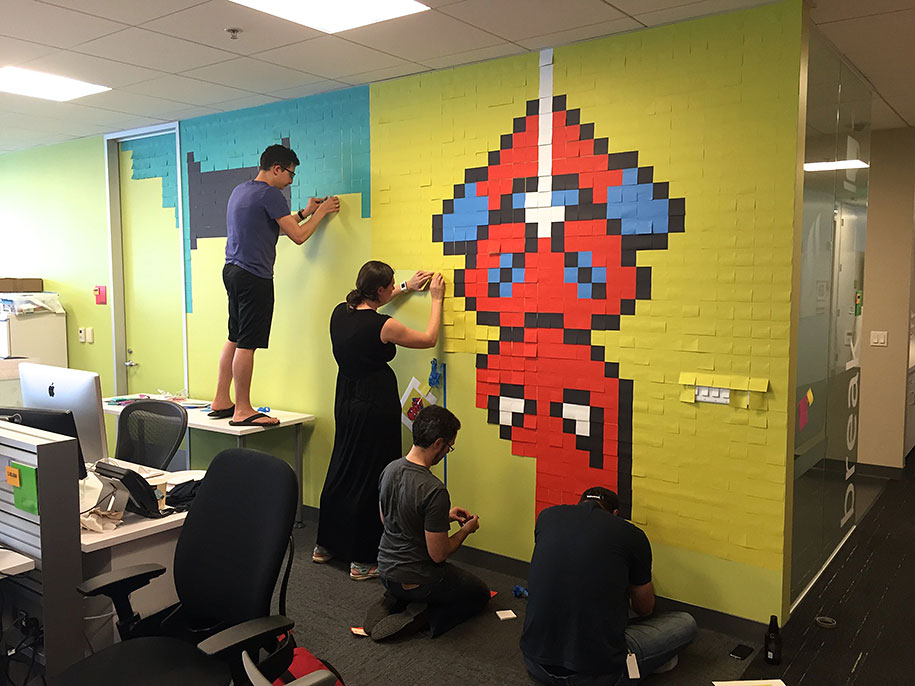 office-wall-superheroes-post-it-art-ben-brucker-27