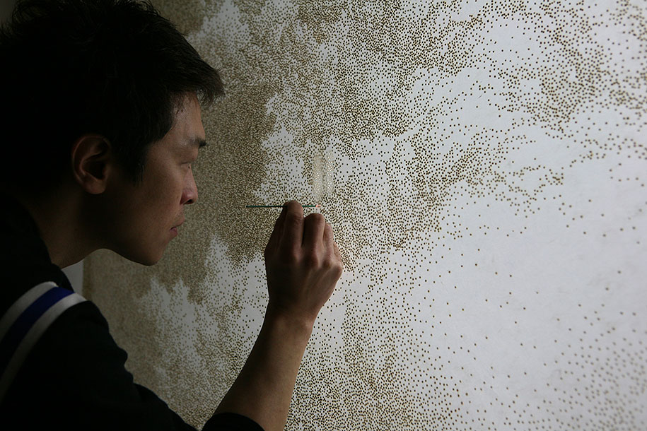 pointillism-incense-stick-burn-rice-paper-jihyun-park-77