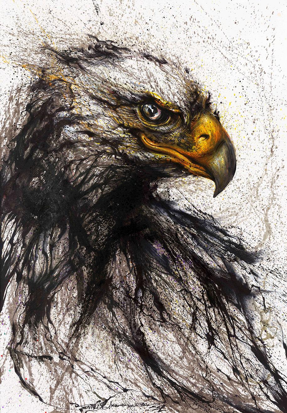 animal-paintings-ink-on-paper-hua-tunan-12