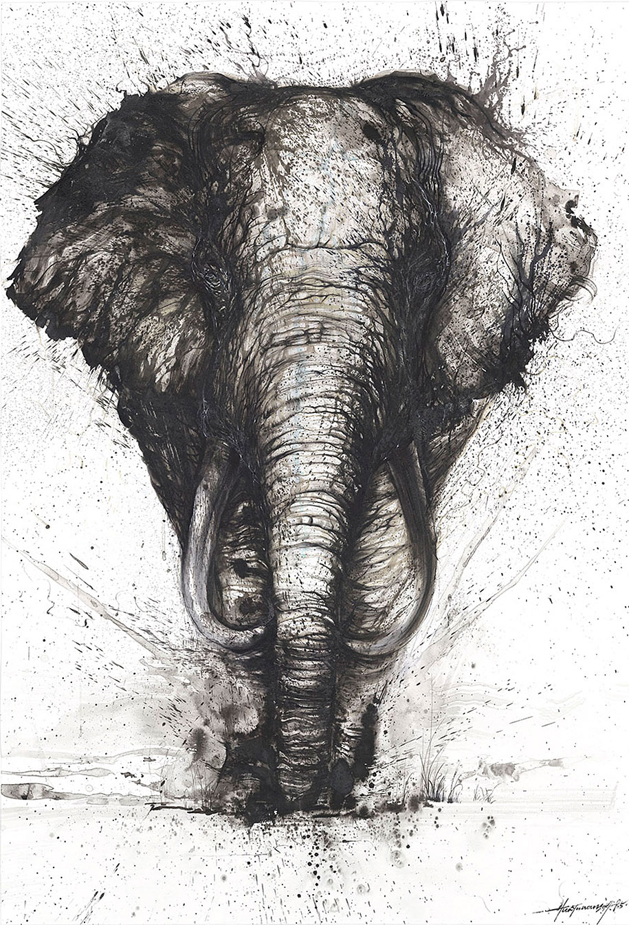 animal-paintings-ink-on-paper-hua-tunan-19
