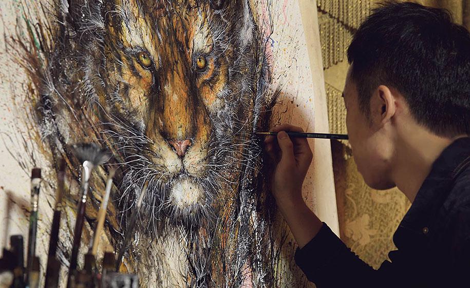 animal-paintings-ink-on-paper-hua-tunan-4